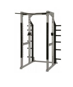 York STS Power Rack with Hook Plates