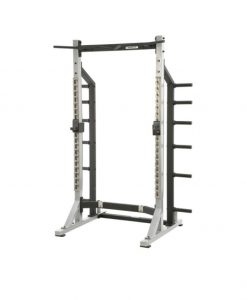 York STS Commercial Self Standing Half Rack