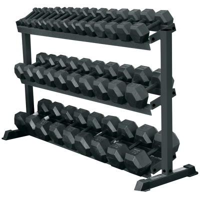 York 3 Tier Dumbell Rack