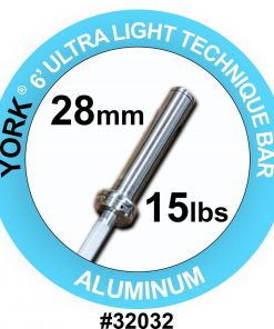 York 7ft Ultra-Light Aluminium Technique Bar