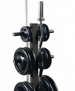York Olympic Plate Tree Rack with 2 Internal Bar Holders