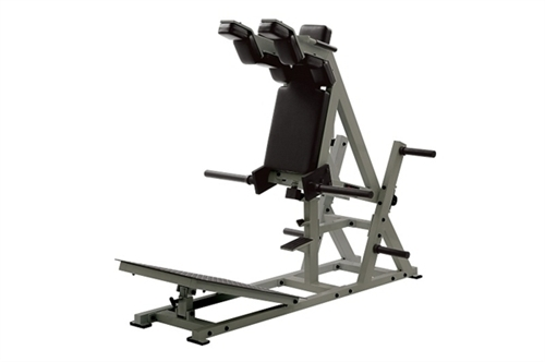 York STS Power Front Squat and Hack Squat Machine