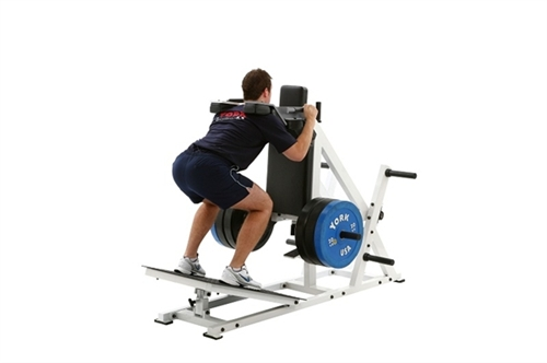 Best Treadmills For Home >> York STS Power Front Squat and Hack Squat Machine