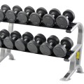 The York 2-Tier Pro-Style Dumbbell Rack