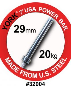 York 7ft Olympic Elite Power Bar (29mm)