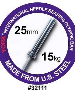 York Women's 6.5ft International Needle Bearing Bar