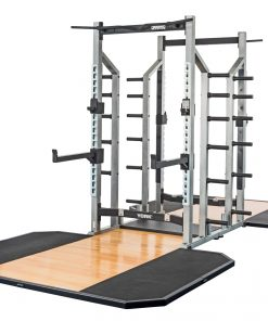 York STS Double Half Rack