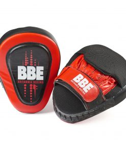 BBE Leather Curved Hook and Jab Pads