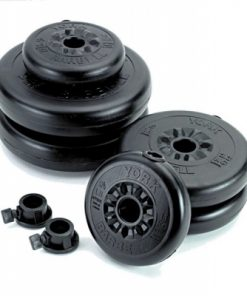 Black Vinyl Body Pump Set