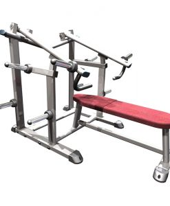 Indigo Flat Chest Press