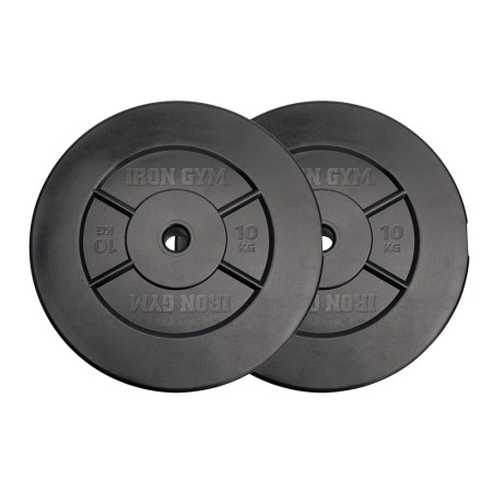 Iron Gym 20kg Barbell Plate Set