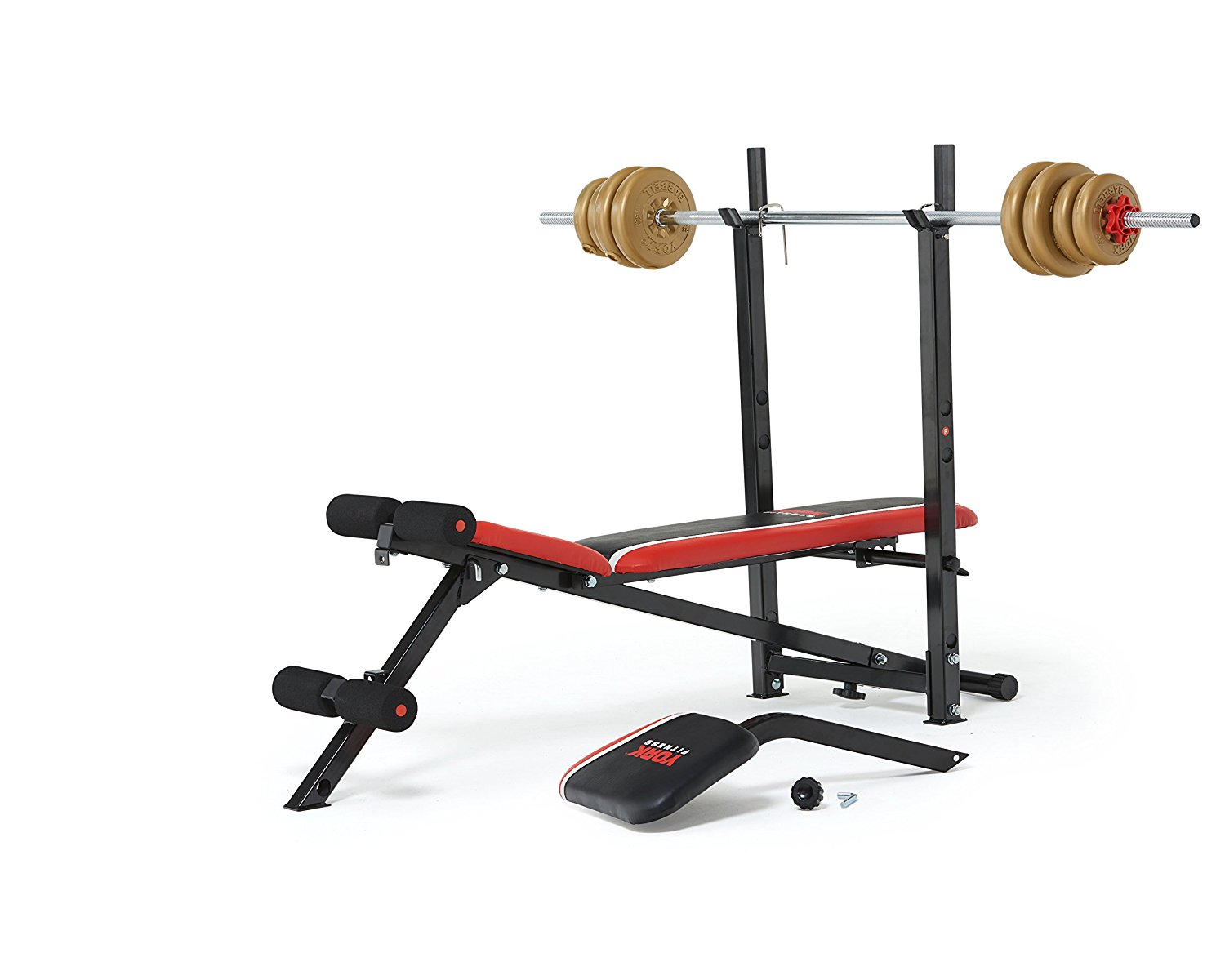 York Warrior 2 In 1 Barbell Amp Ab Bench Fitness Equipment Ni