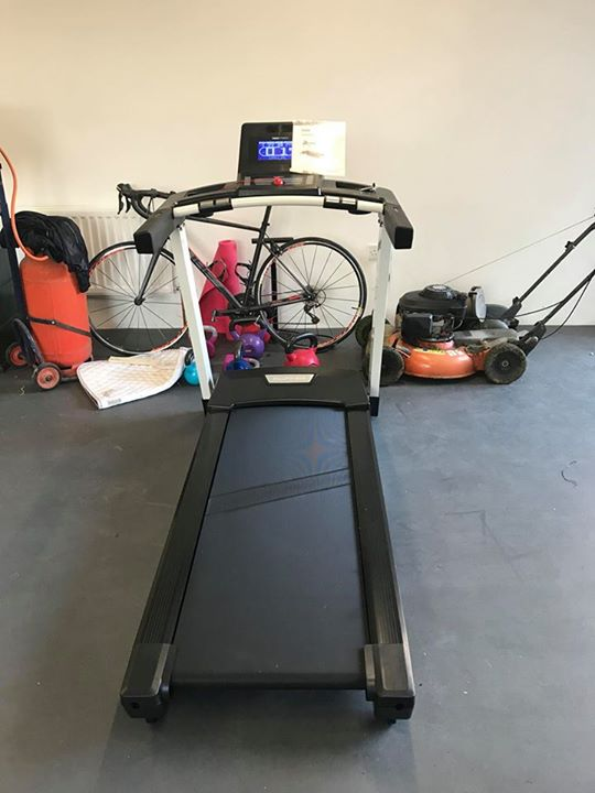 Job number today install of flow fitness dtm i in
