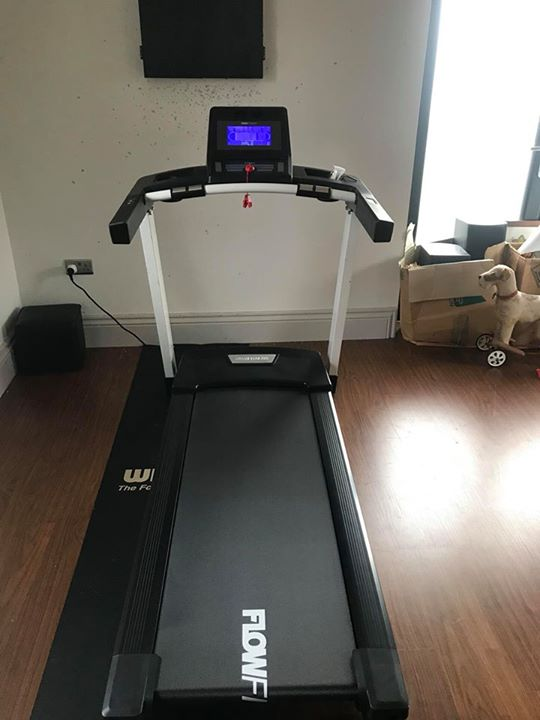 Install of a flow fitness dtm i this machine have to