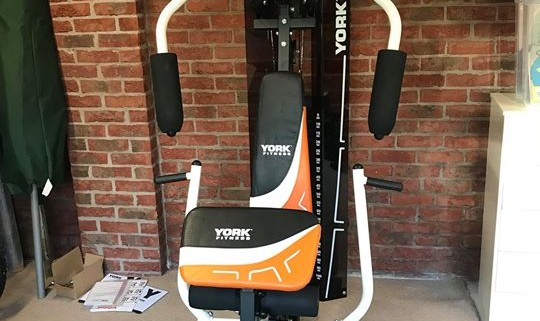 York perform multigym and flow fitness dct crosstrainer