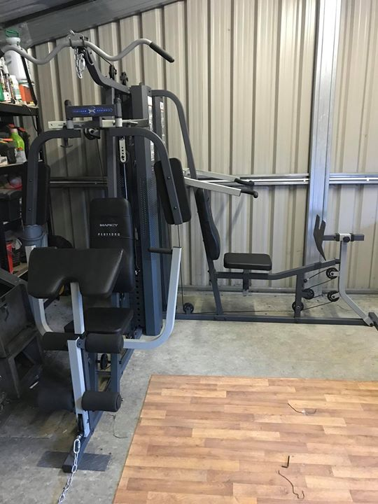 a customer had bought a multigym from a different supply. Black Bedroom Furniture Sets. Home Design Ideas