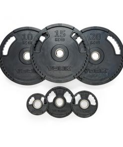 York G2 Rubber Thin Line Weight Plates