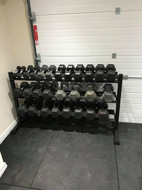 Yesterday we had the pleasure of installing a brilliant home gym