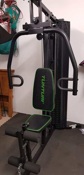 We installed this tunturi hg home gym in belfast on thursday