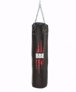 BBE Club Leather 120cm Punching Bag with Chains & Swivel
